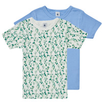 material Boy short-sleeved t-shirts Petit Bateau LOLITA Multicolour
