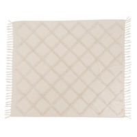 Home Blankets, throws Mylittleplace TARTEL White