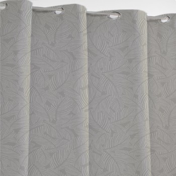 Home Curtains & blinds Mylittleplace NIORT Grey / Clear