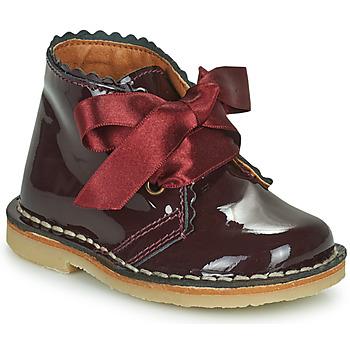 Shoes Girl Mid boots Citrouille et Compagnie PASTEQU Bordeaux