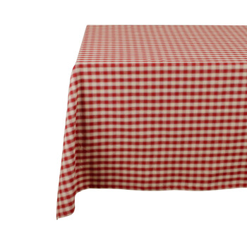 Home Tablecloth Comptoir de famille CAMPAGNE Red