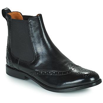 Shoes Women Mid boots Melvin & Hamilton AMELIE 5 Black