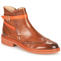 Shoes Women Mid boots Melvin & Hamilton SELINA 25 Brown