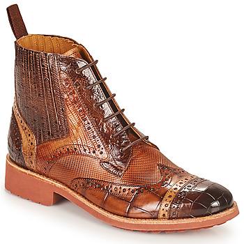 Shoes Women Mid boots Melvin & Hamilton AMELIE 17 Brown