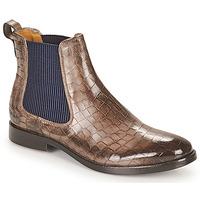 Shoes Women Mid boots Melvin & Hamilton AMELIE 12 Brown