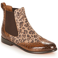 Shoes Women Mid boots Melvin & Hamilton SELINA 29 Brown