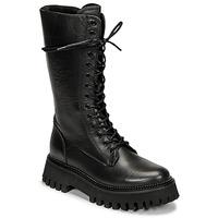 Shoes Women Mid boots Bronx GROOV Y Black