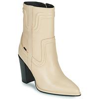 Shoes Women Boots Bronx NEXT AMERICANA Beige