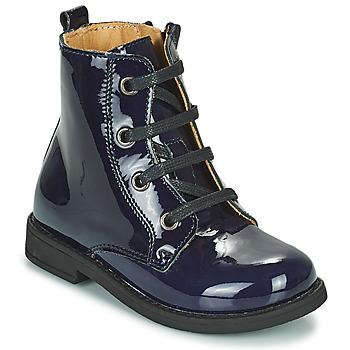 Shoes Girl Mid boots Citrouille et Compagnie HEMANU Blue