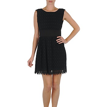 material Women Short Dresses Eleven Paris DEMAR Black