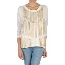 material Women Long sleeved shirts Eleven Paris ANGIE White