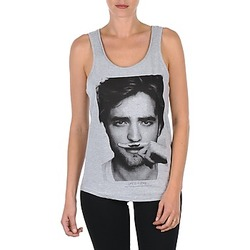material Women Tops / Sleeveless T-shirts Eleven Paris BERTY DEB W Grey