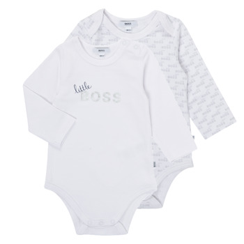 material Boy Sleepsuits BOSS SEPTINA White