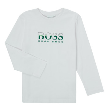 material Boy Long sleeved shirts BOSS SOPELAS White