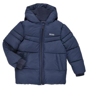 material Boy Duffel coats BOSS DOLINA Marine