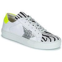Shoes Women Low top trainers Betty London PANILLE White