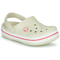 Shoes Children Clogs Crocs CROCBAND CLOG K Beige / Orange