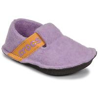 Shoes Girl Slippers Crocs CLASSIC SLIPPER K Violet / Yellow
