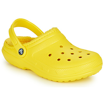 Shoes Clogs Crocs CLASSIC LINED CLOG Yellow