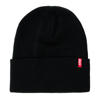 Clothes accessories hats Levi's SLOUCHY RED TAB BEANIE Regular /  black
