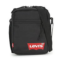 Bags Men Pouches / Clutches Levi's MINI CROSSBODY SOLID (RED BATWING) Regular /  black