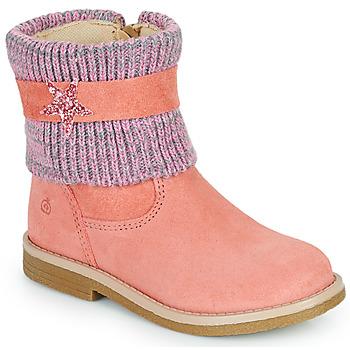 Shoes Girl Mid boots Citrouille et Compagnie PASTEK Pink