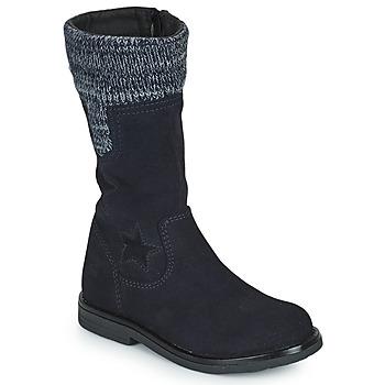 Shoes Girl Boots Citrouille et Compagnie PRARA Marine
