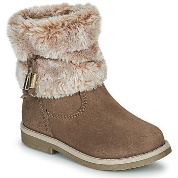 Shoes Girl Mid boots Citrouille et Compagnie PAKRETTE Camel