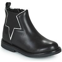 Shoes Girl Mid boots Citrouille et Compagnie PRATO Black