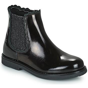 Shoes Girl Mid boots Citrouille et Compagnie PRAIRIE Black