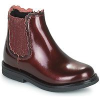 Shoes Girl Mid boots Citrouille et Compagnie PRAIRIE Bordeaux