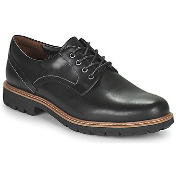 Shoes Men Derby shoes Clarks BATCOMBE HALL Black