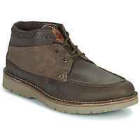 Shoes Men Mid boots Clarks EASTFORD TOP Brown