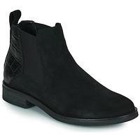 Shoes Women Mid boots Clarks MEMI TOP Black