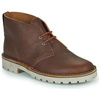 Shoes Men Mid boots Clarks OVERDALE MID Camel