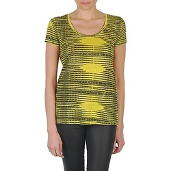 material Women short-sleeved t-shirts Eleven Paris DARDOOT Yellow