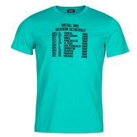 material Men short-sleeved t-shirts Diesel T-DIEGOS Blue