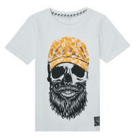 material Boy short-sleeved t-shirts Name it NKMKSOYTAN SS TOP White