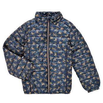 material Girl Duffel coats Name it NKFMENE FLOWER JACKET Marine