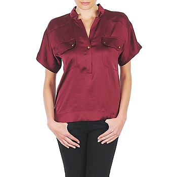 material Women Blouses Lola COLOMBE ESTATE Bordeaux
