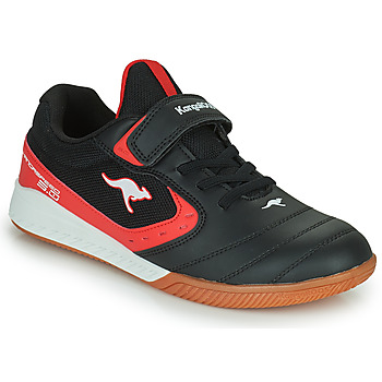 Shoes Children Low top trainers Kangaroos K5-COURT EV Black / Red