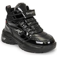 Shoes Girl High top trainers Kangaroos KC-ICY EV RTX Black