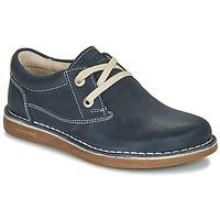 Shoes Children Derby shoes Birkenstock MEMPHIS KIDS Blue / Dark