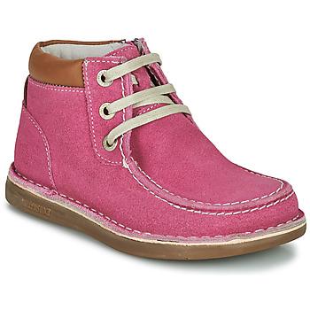 Shoes Girl Mid boots Birkenstock PASADENA HIGH KIDS Pink