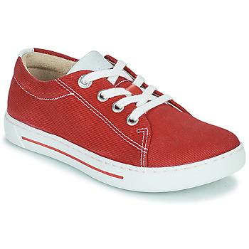Shoes Children Low top trainers Birkenstock ARRAN KIDS Red