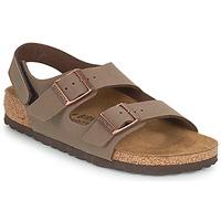 Shoes Boy Sandals Birkenstock MILANO HL Mocca