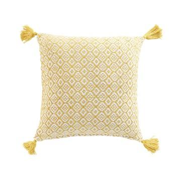 Home Cushions Douceur d intérieur PITHAYA Yellow