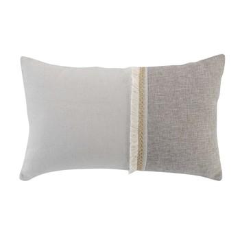 Home Cushions Douceur d intérieur CHANEZ Grey / Clear