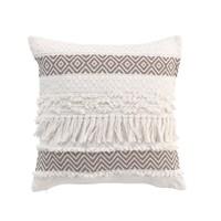 Home Cushions Douceur d intérieur ZYA Taupe