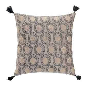 Home Cushions Douceur d intérieur ONYXIA Beige